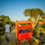 Rickshaw valet