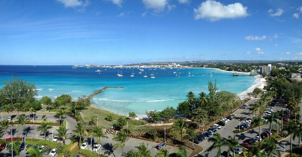 View from the Hilton, Barbados