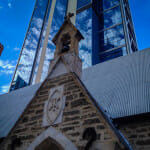Old and New on St Georges Terrace