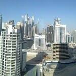 View from the Address Hotel Dubai Marina