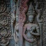 Ta Prom Temple Detail