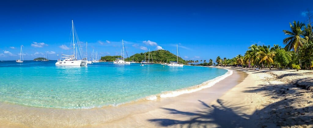 Bareboating (and lobster-eating) in the Grenadines