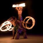 Fijian Fire Dancers