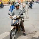 Near Long Bien Market