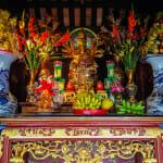 Inside the One Pillar Pagoda