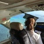 Flying to Lizard Island