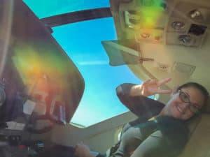 Co-pilots seat