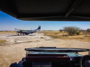 Jack's Camp airstrip