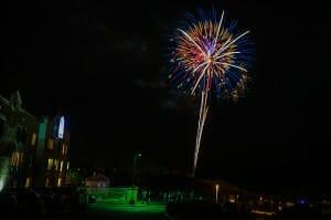 Page, AZ fireworks